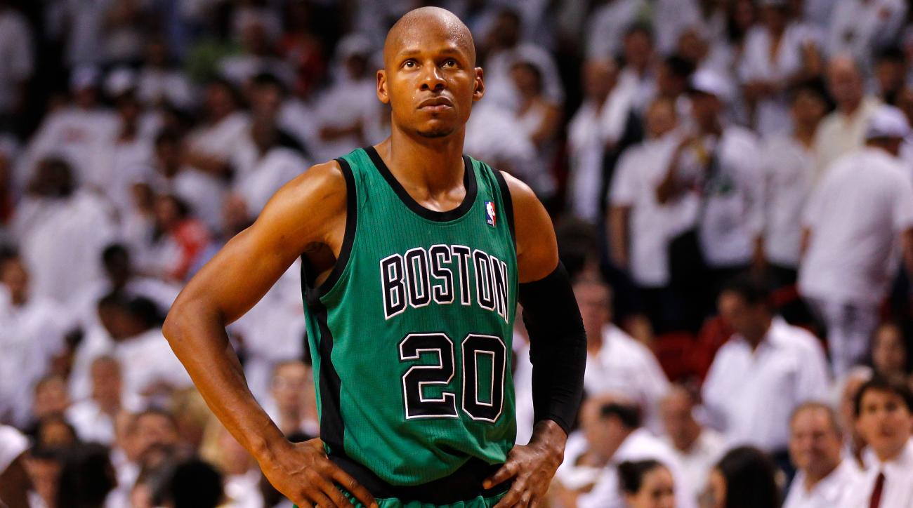 Ray Allen to Celtics Fans: 'Y'all Need to Get Over It!'