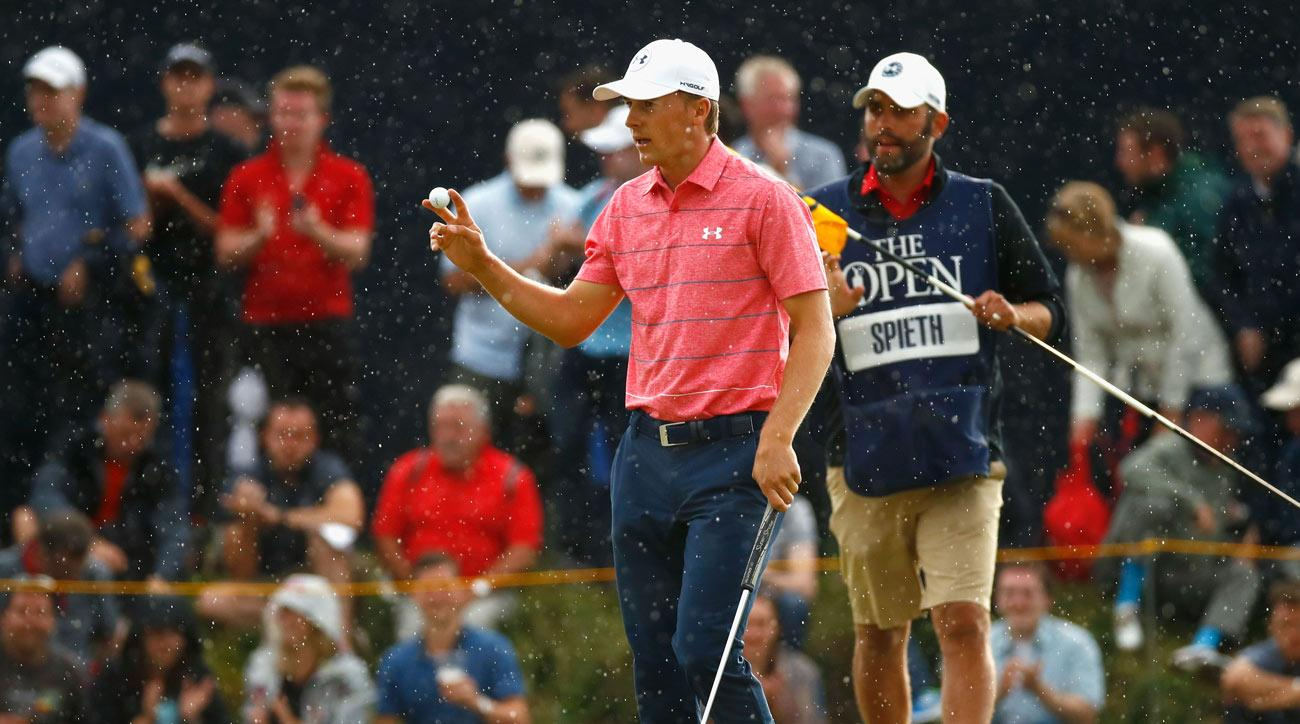 Just a few days before turning 24 years old, Jordan Spieth is trying to win the third leg of his career grand slam.
