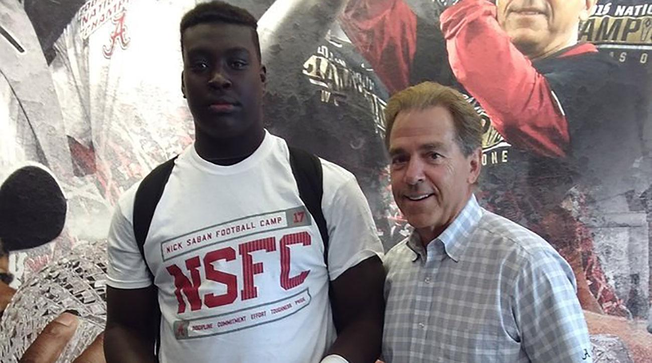 6'4, 286 lb. 8th grader has offers from Ole Miss, Miss