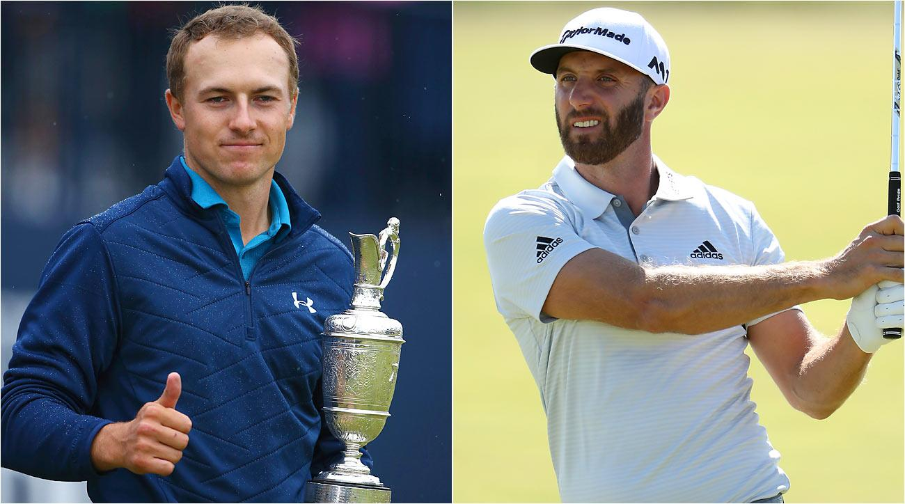 Spieth and DJ finished far apart on the leaderboard. But they began the week side-by-side on betting sheets.