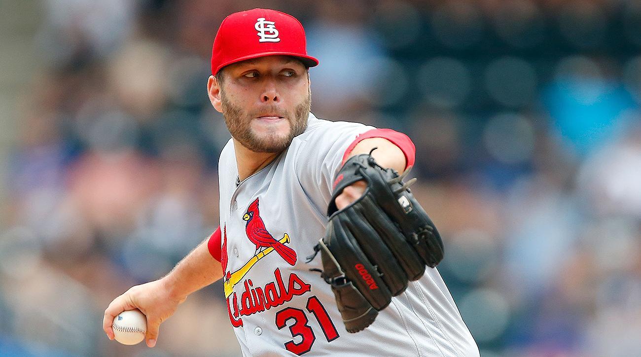 St. Louis Cardinals Lance Lynn