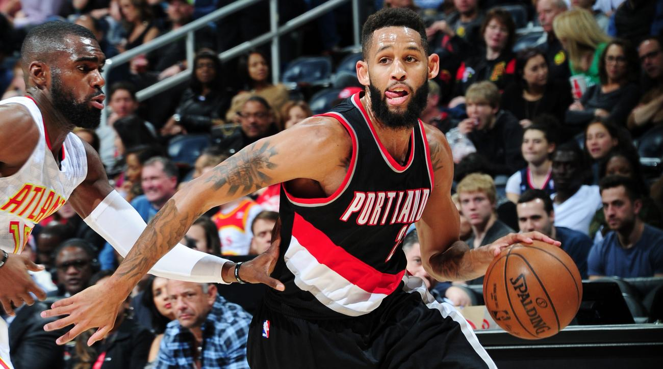 Trail Blazers trade Allen Crabbe to Nets for Andrew Nicholson