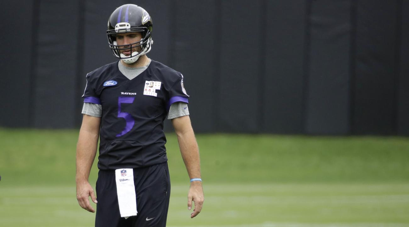 Joe Flacco back injury