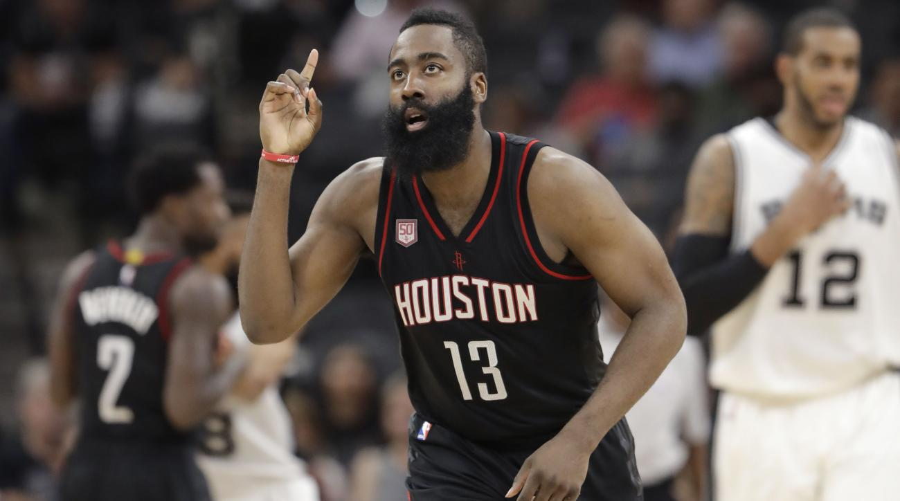 36ab95c5a4a James Harden s jersey is allegedly retired at Houston strip club ...