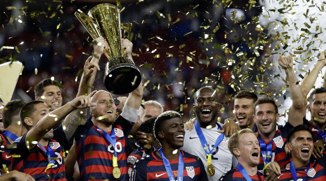 The USA beats Jamaica in the final to win the 2017 CONCACAF Gold Cup