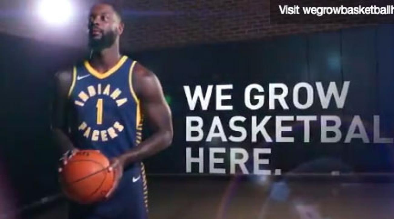 Lance Stephenson is a big fan of the Pacers' new Nike jersey.
