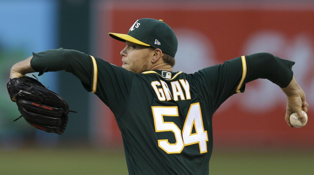 A's push back Gray's next start until after trade deadline