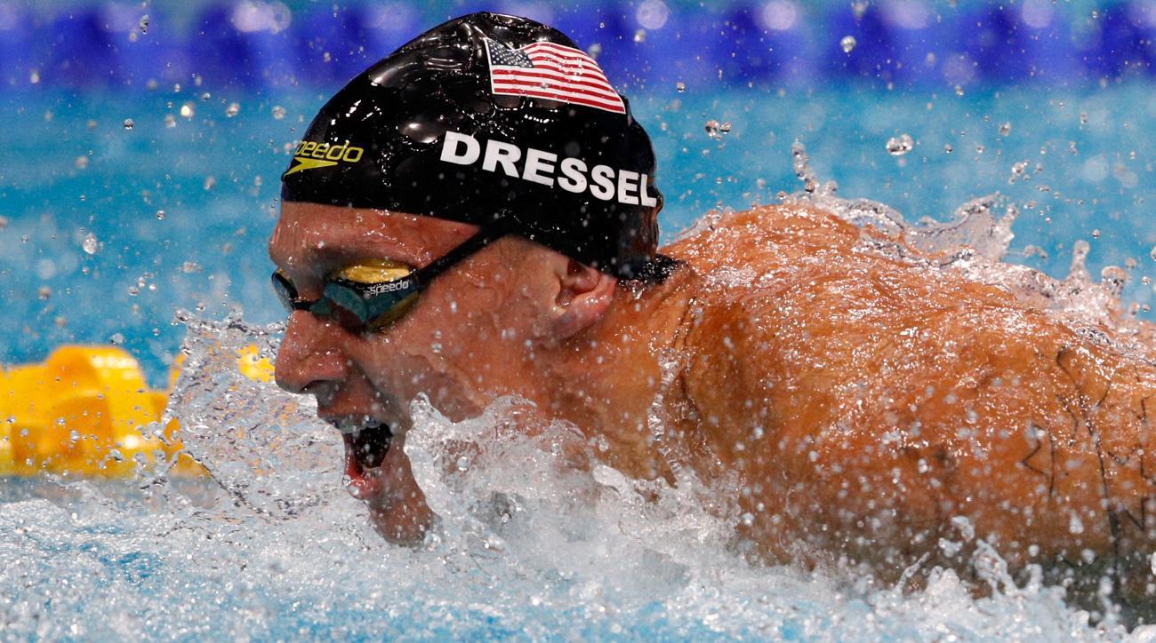 caeleb dressel world championship gold medals