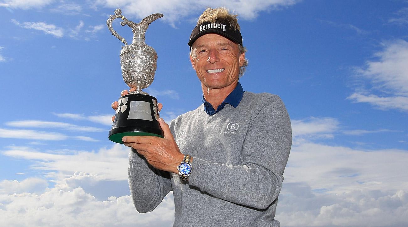 bernhard langer wins third senior british open title