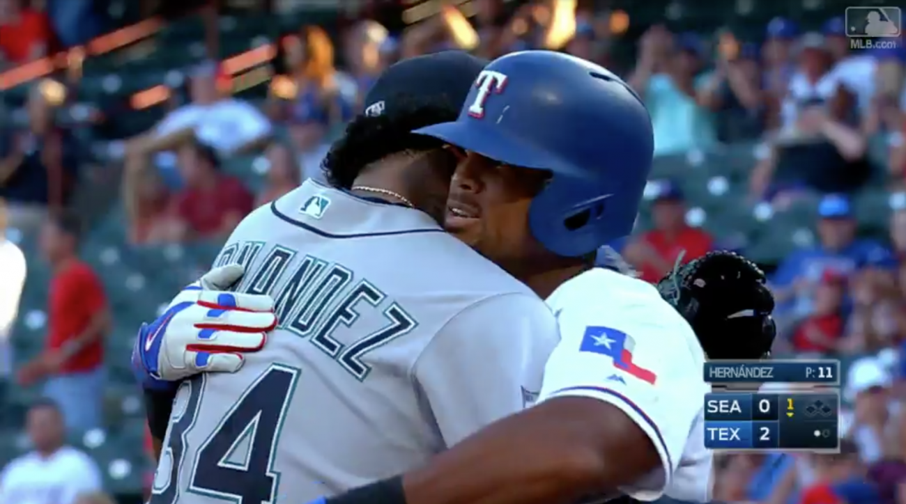 Adrian Beltre Channels Marshawn Lynch After Milestone 3000th Hit