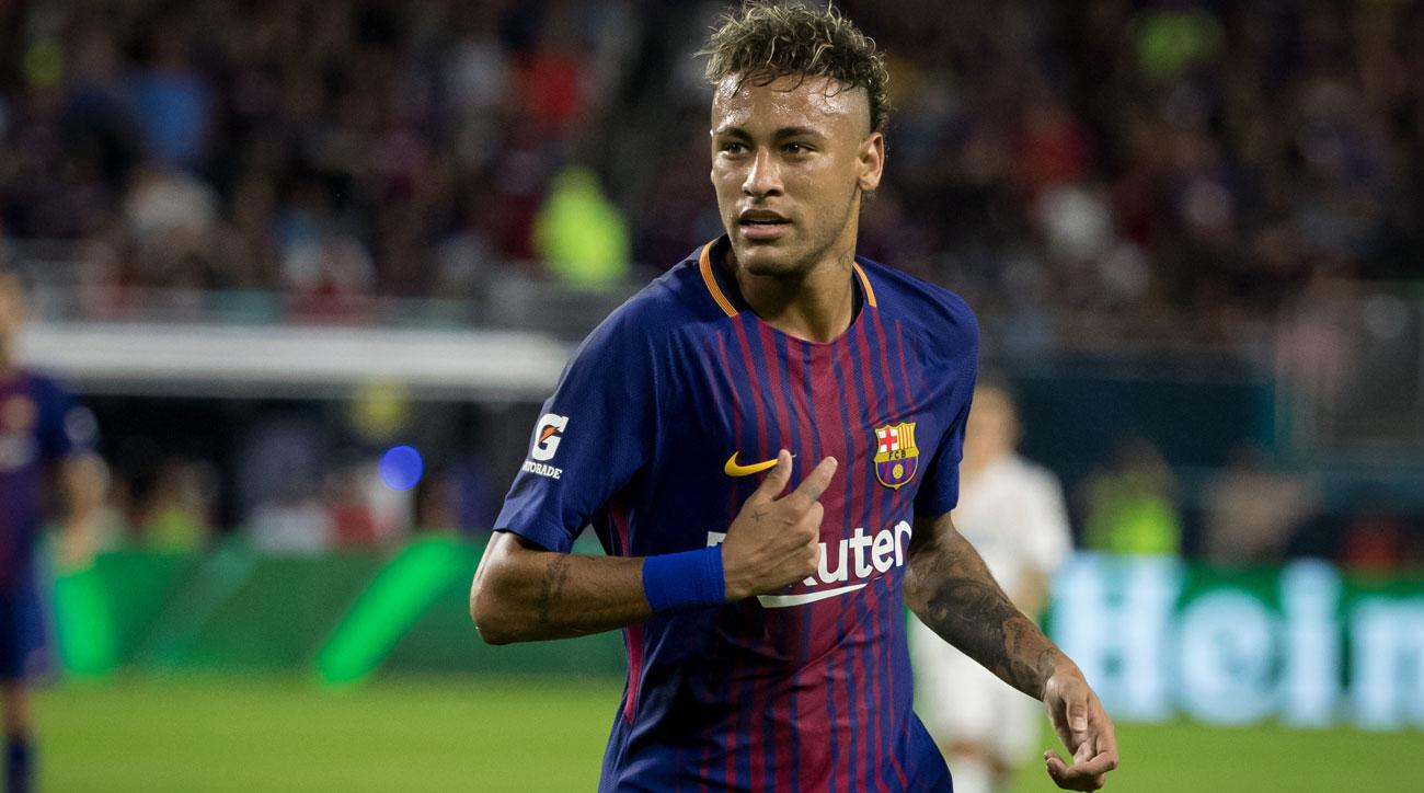 pretty nice 72aa3 b593b Neymar has been linked with a move from Barcelona to PSG