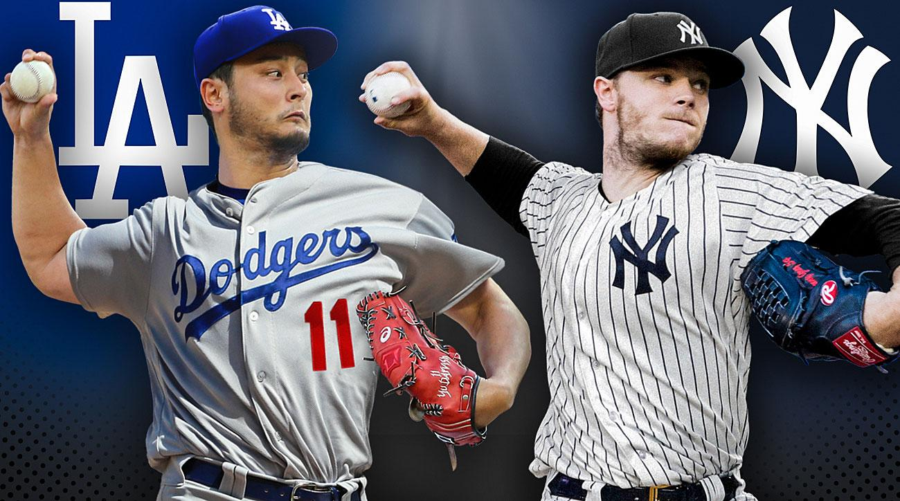 Yu Darvish, Los Angeles Dodgers; Sonny Gray, New York Yankees