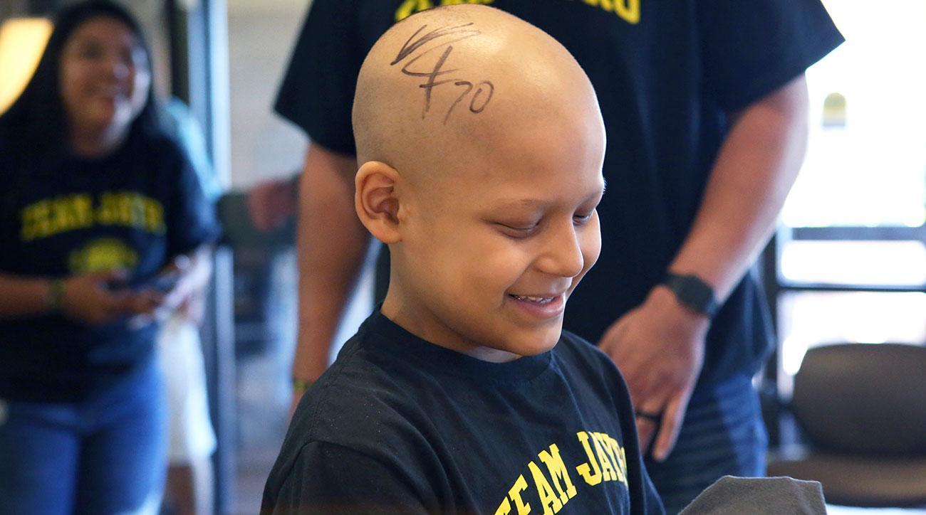 Odell Beckham Jr Giants fan s after cancer battle
