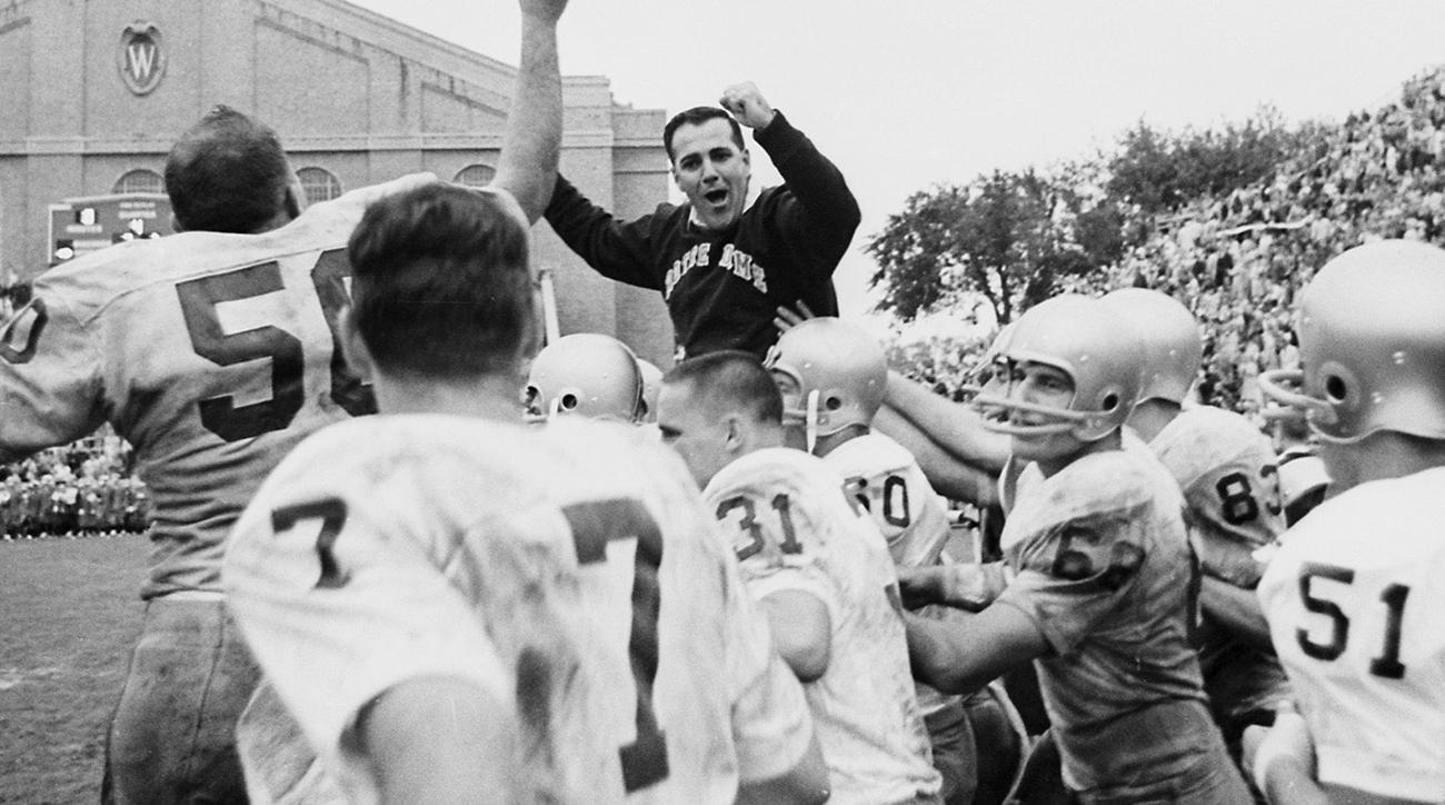 Notre Dame coach Ara Parseghian dies, led Fighting Irish football to two national championships
