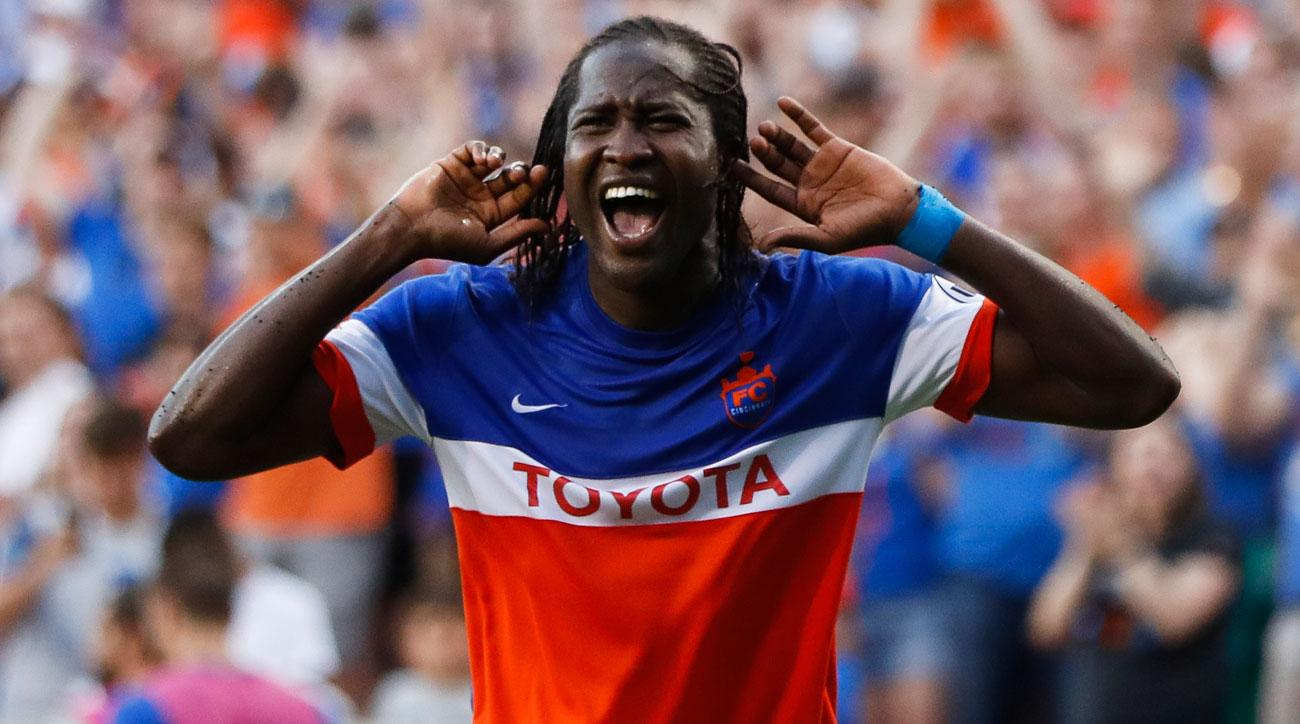 Djiby Fall leads FC Cincinnati to the US Open Cup semifinals
