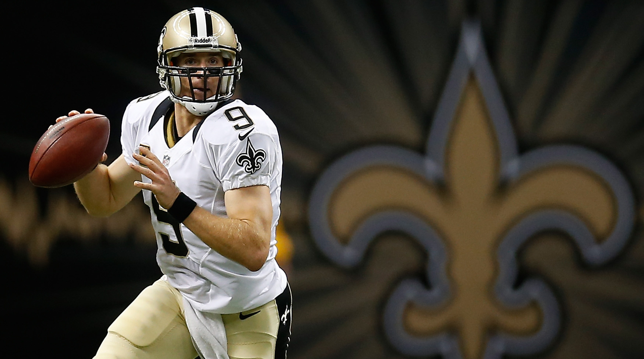 New Orleans Saints quarterback Drew Brees.