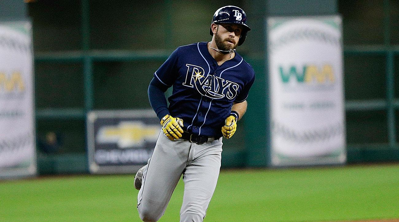 Evan Longoria hit for the cycle
