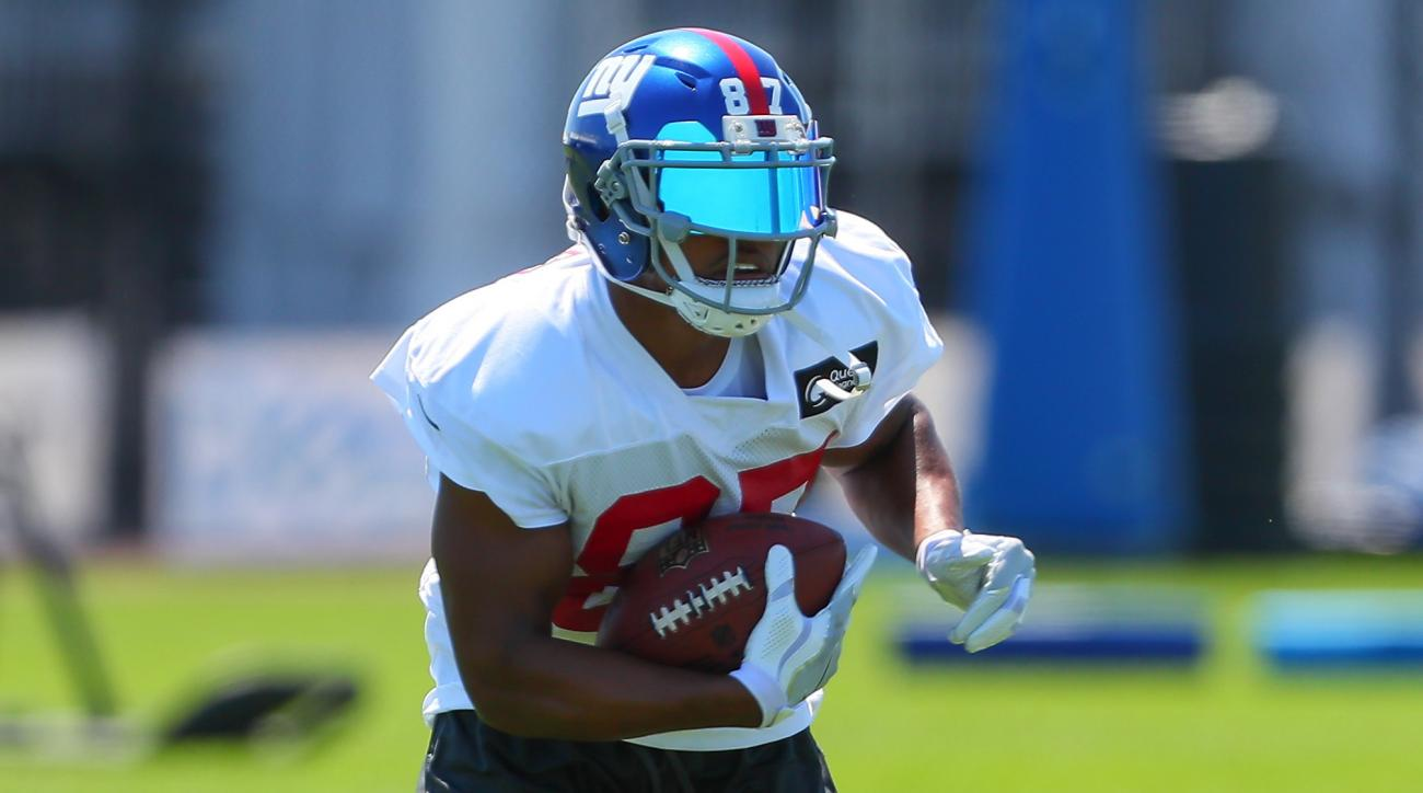 Giants say Sterling Shepard rolled his ankle, more tests coming