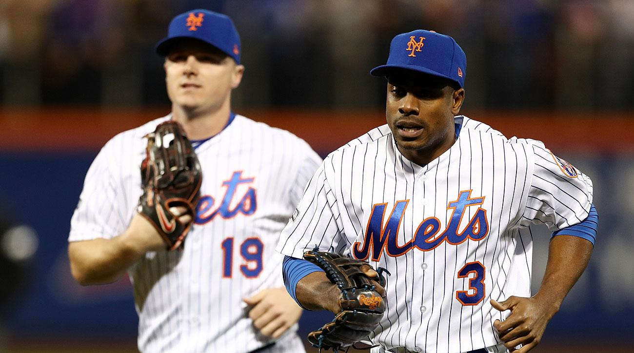 more photos 6369f f68aa Jay Bruce and Curtis Granderson, New York Mets