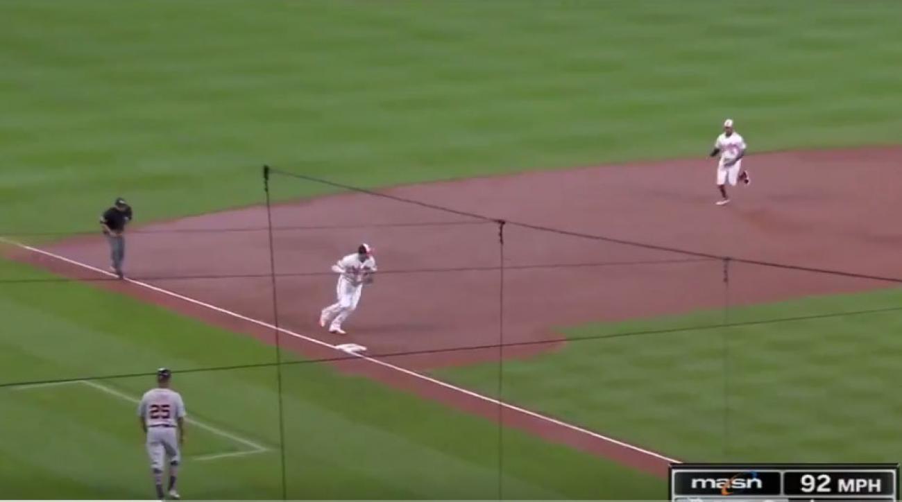 Kinsler, Upton help Tigers cool off Orioles