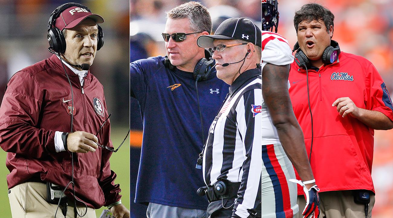 Coach of the year candidates: Jimbo Fisher, Jason Candle, Charlie Strong are sleeper picks