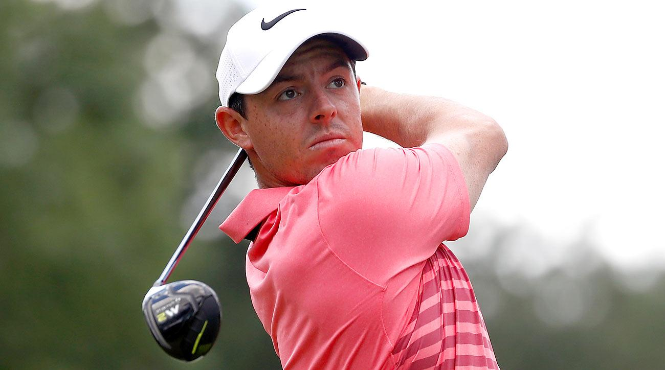 Rory McIlroy shot a two-under 68 in the third round at the Bridgestone Invitational.