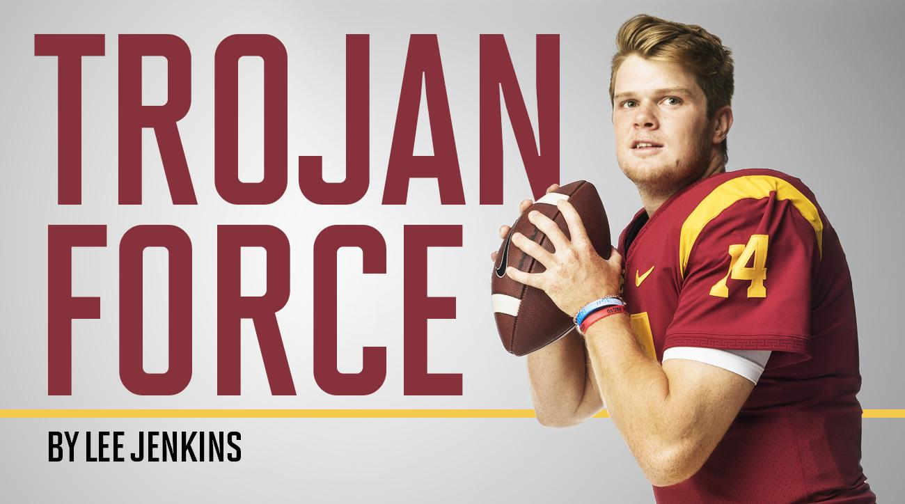 Sam Darnold: USC quarterback, Heisman Trophy candidate, NFL draft prospect built from humble beginnings