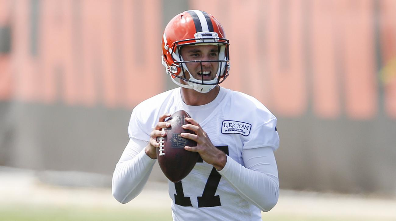 Brock Osweiler to start Cleveland Browns' preseason opener
