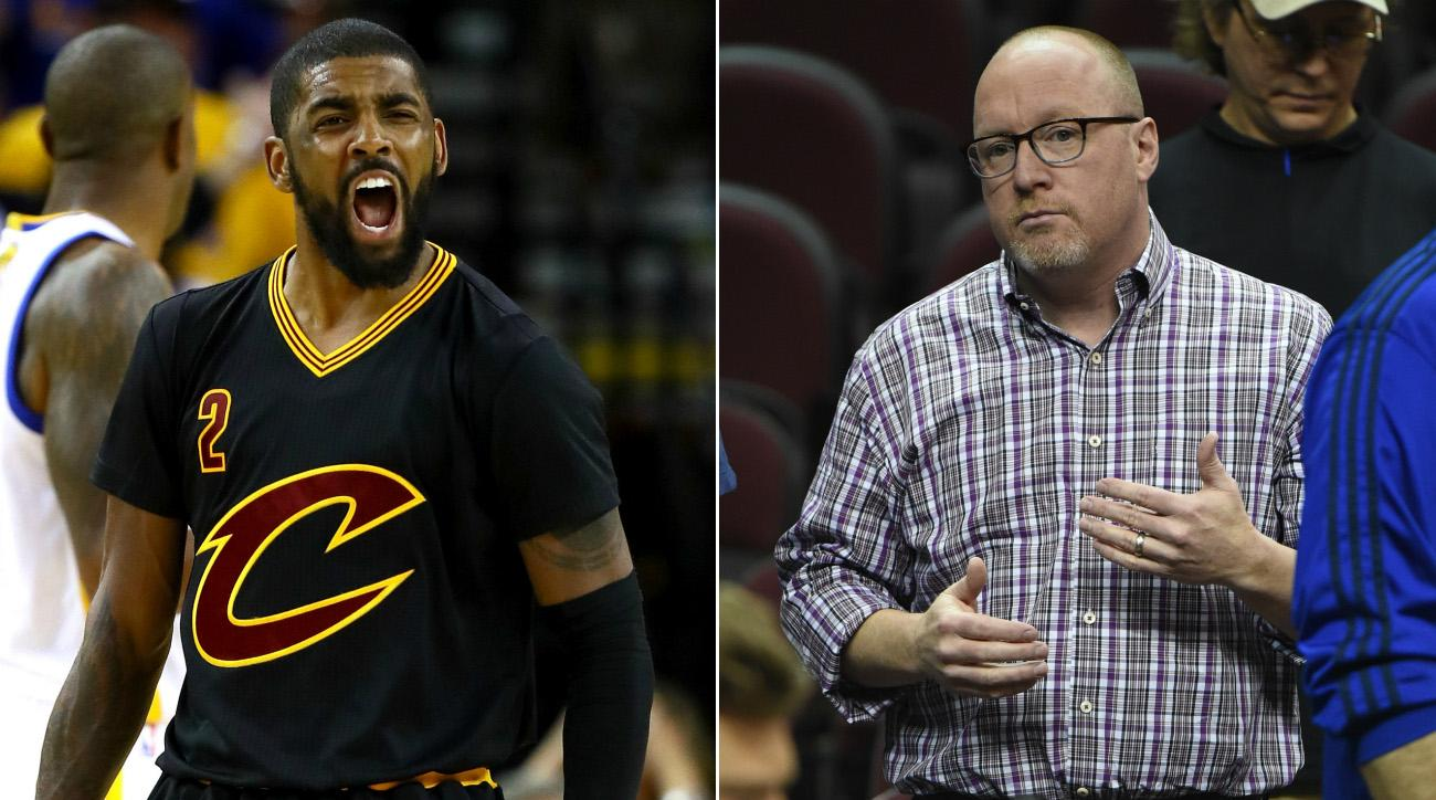 Ex-Cavs GM: 'I think Kyrie's going to end up getting traded'