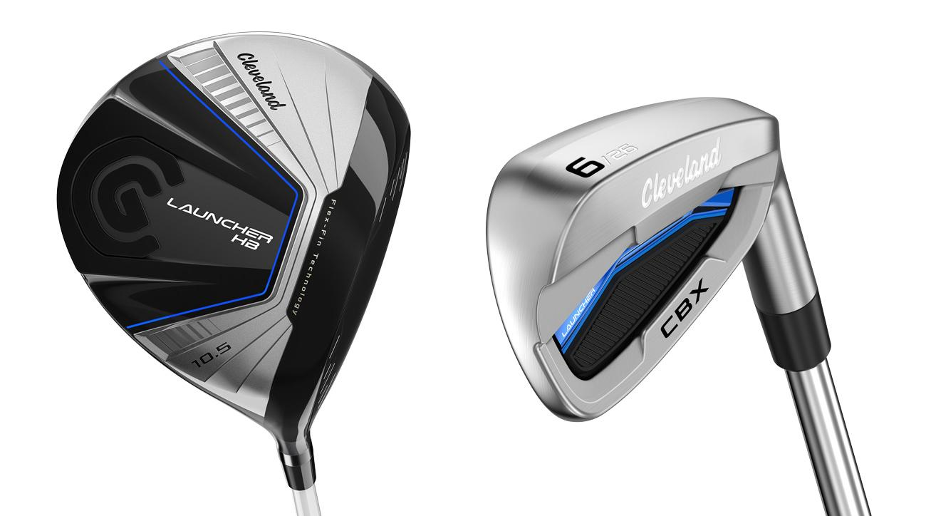 The new Cleveland Launcher HB driver and Cleveand Launcher CBX irons.