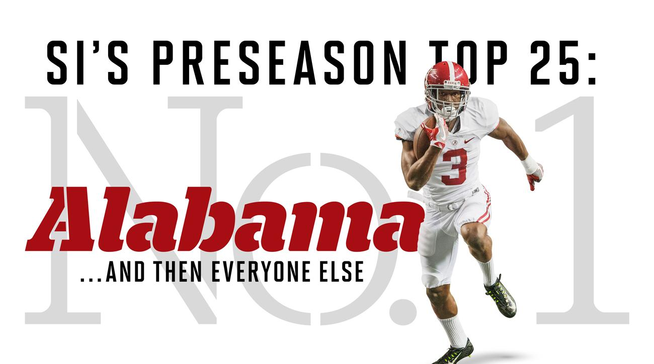 College football preseason top 25: Alabama, Florida State tops SI's rankings