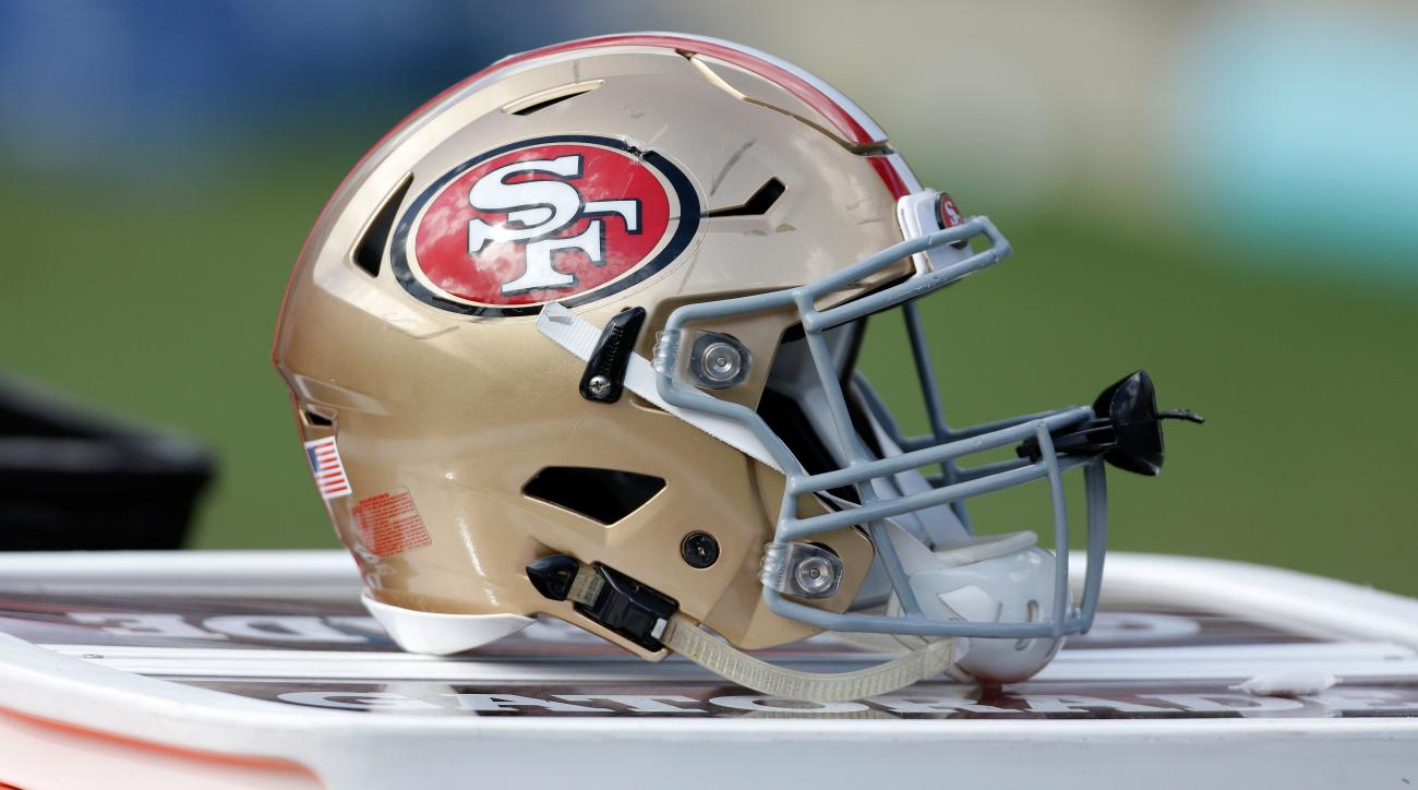 Niners' Donavin Newsom leaves practice in ambulance
