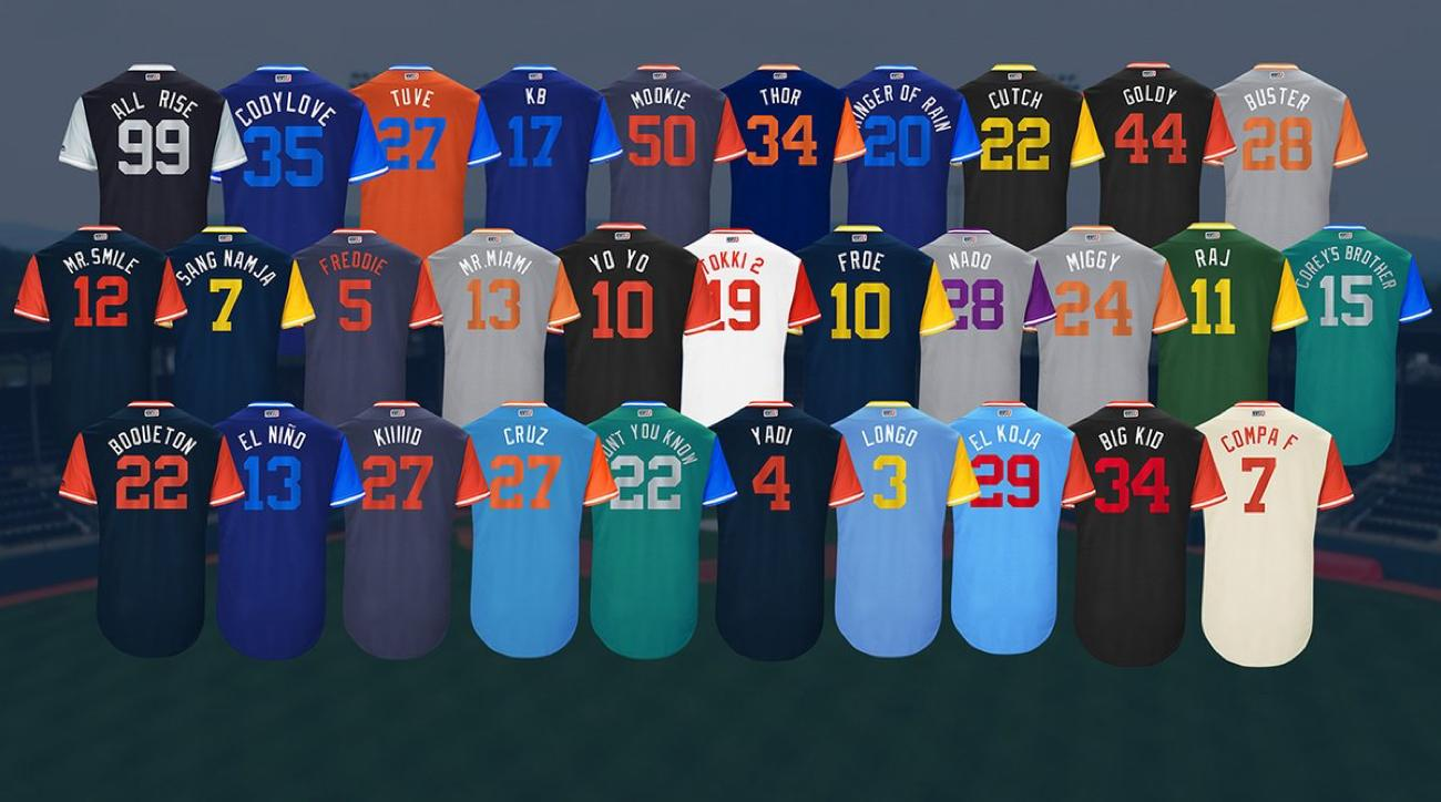 934731a9 Players Weekend jersey nicknames revealed for all MLB teams | SI.com