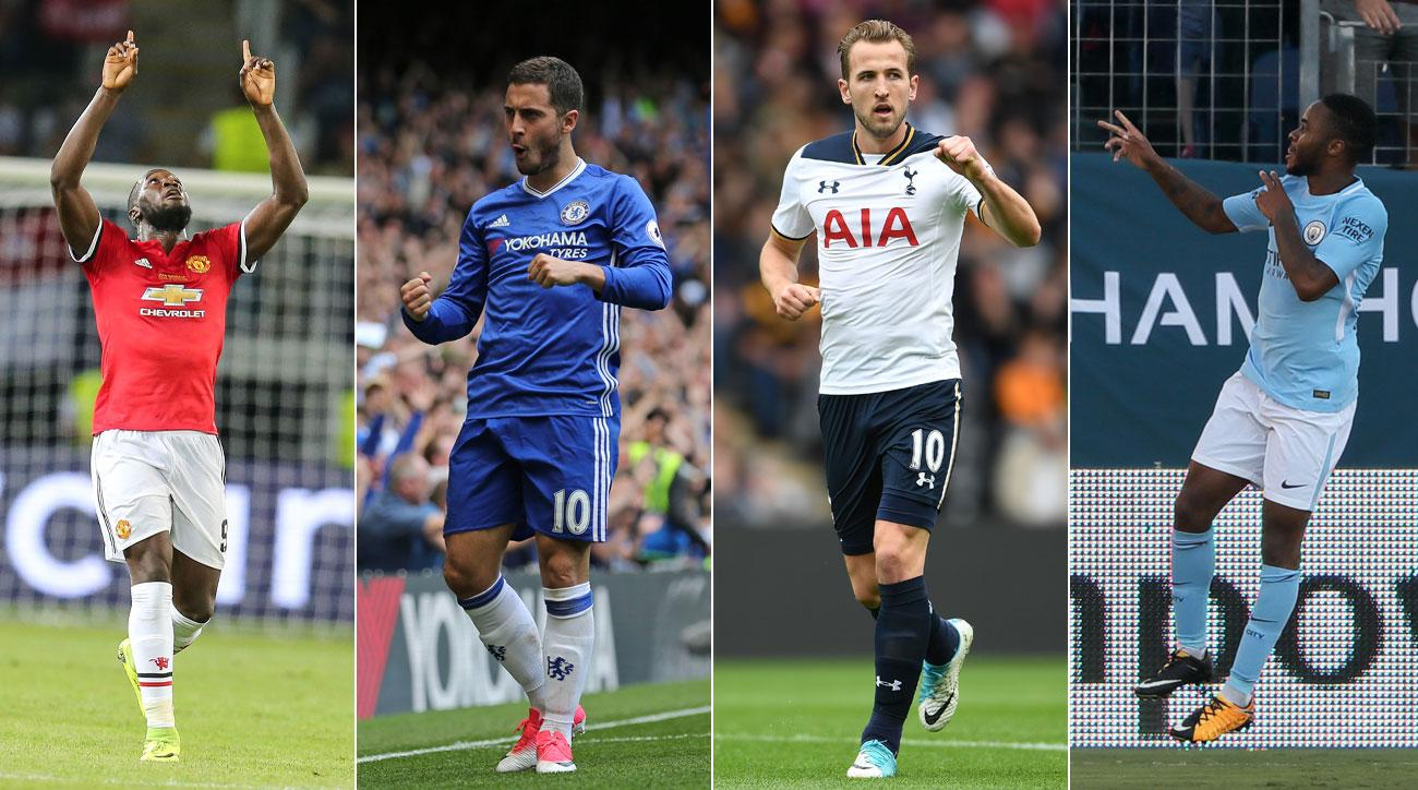 Manchester United, Manchester City, Chelsea and Tottenham will all contend for the Premier League title