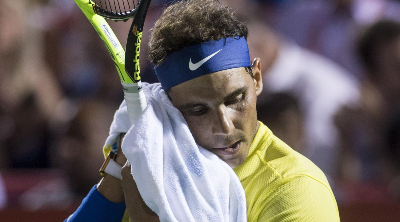 Nadal upset at Rogers Cup