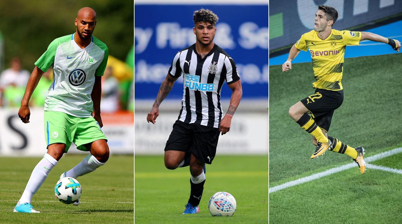 John Brooks, DeAndre Yedlin and Christian Pulisic all face big seasons with their clubs