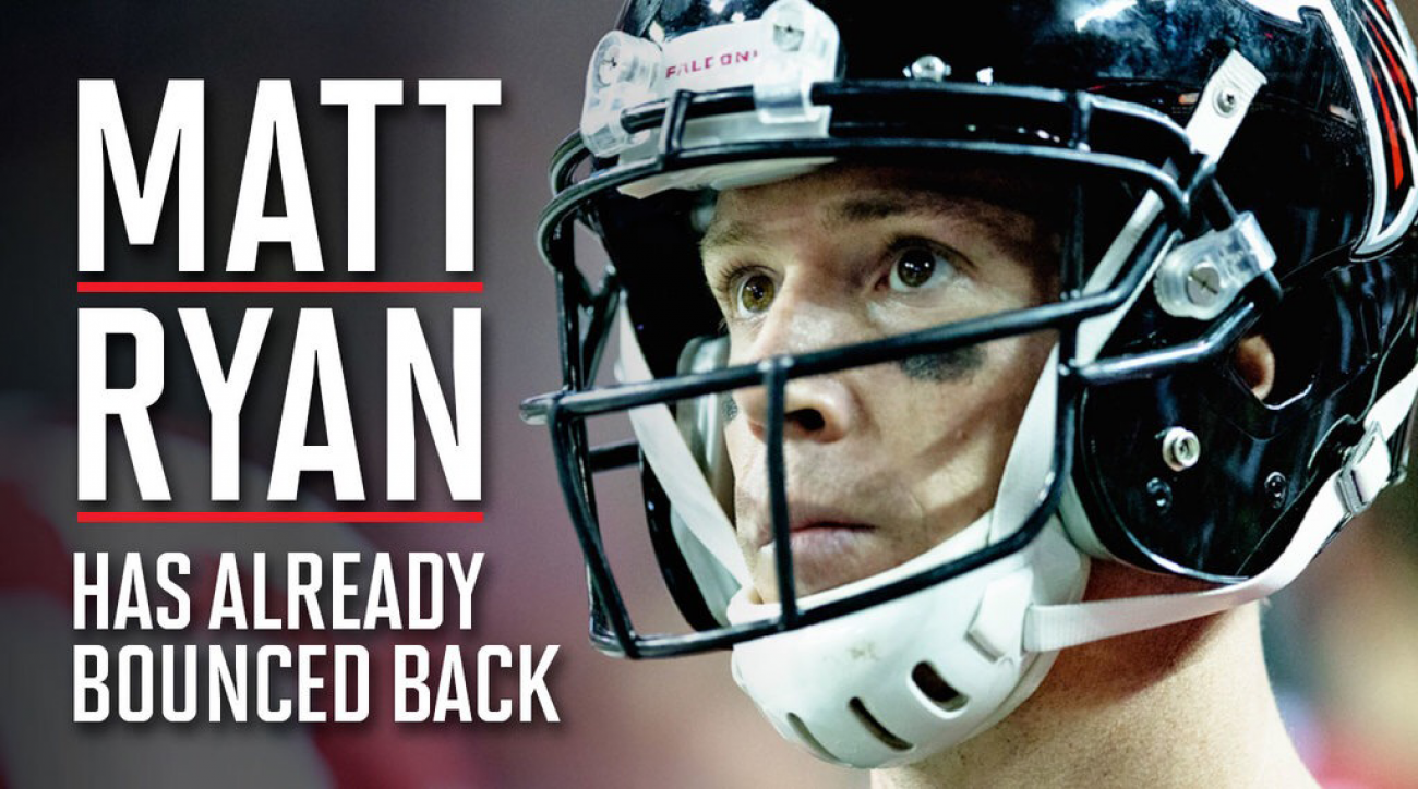 Matt ryan falcons have bounced back from super bowl 51 si how the atlanta falcons are handling the worst loss in super bowl history voltagebd Choice Image