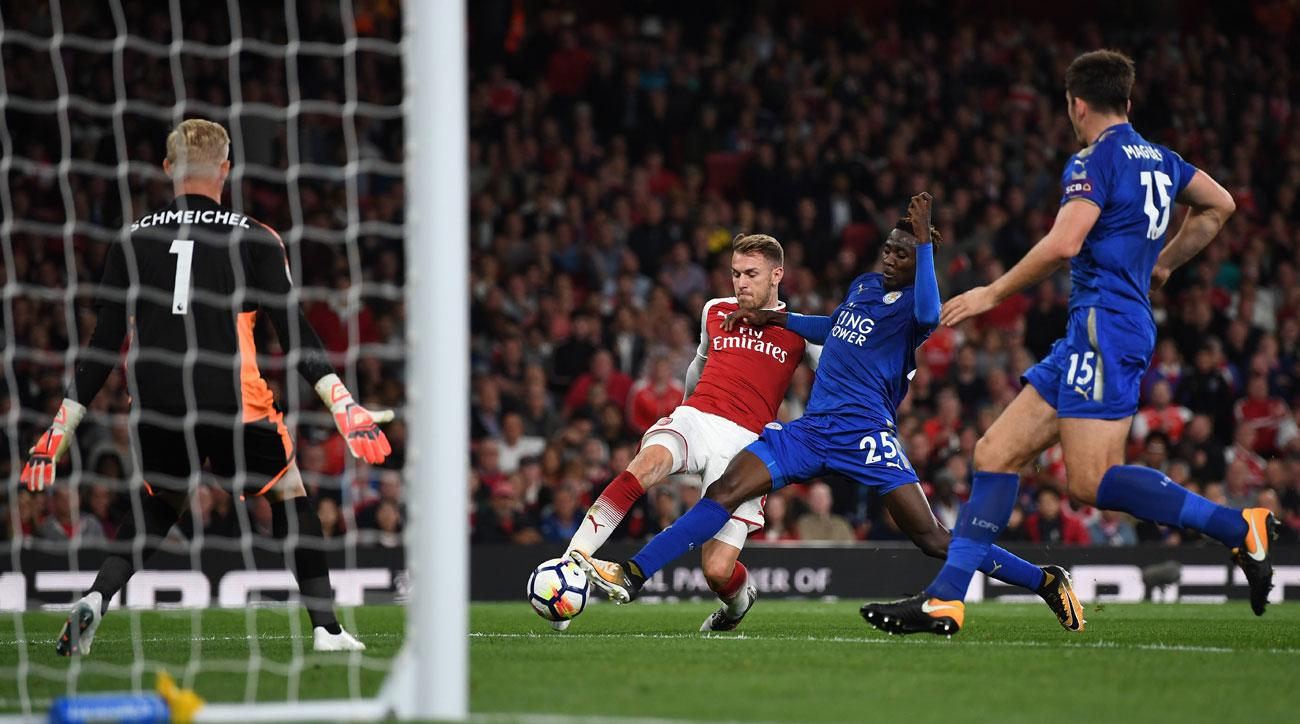 Drama At The Emirates As Arsenal Beat Leicester In Seven-Goal Thriller