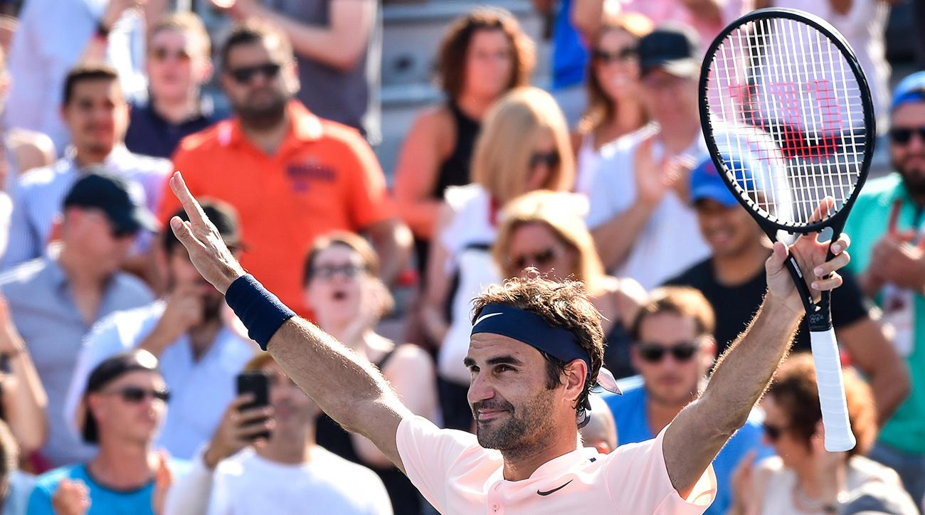 Rogers Cup 2017: Roger Federer, Caroline Wozniacki Advance in Friday's Action