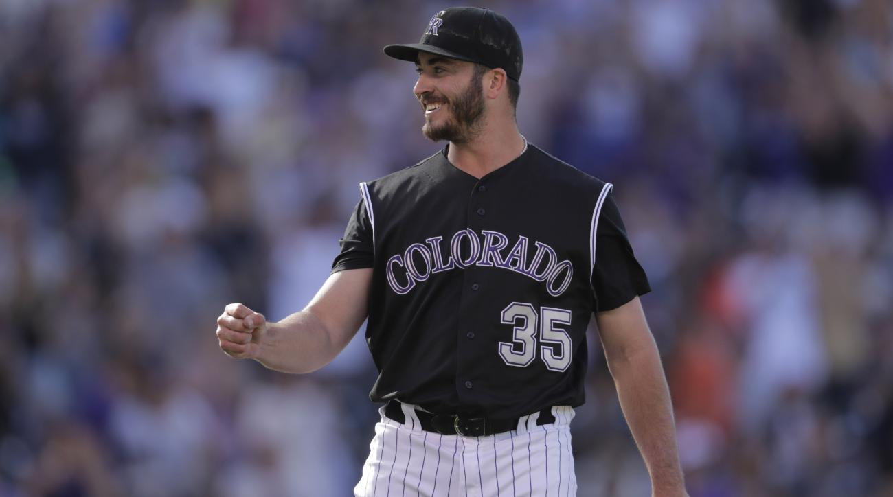 Rockies starter goes from cancer to playoff chase