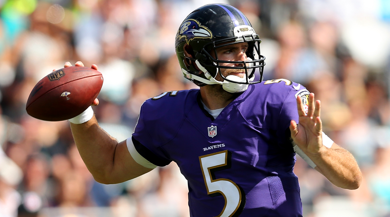 Joe Flacco won't play in preseason, expected to start Week 1
