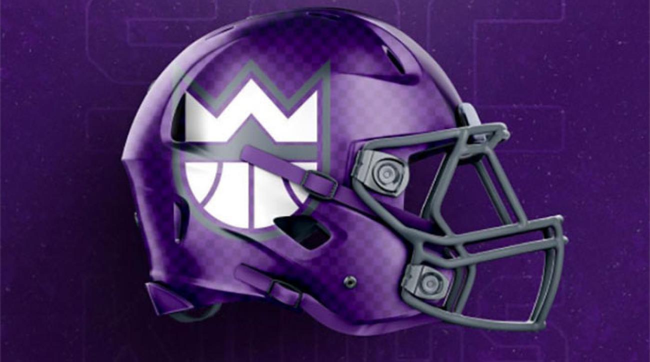 NBA NFL Helmet Mashups