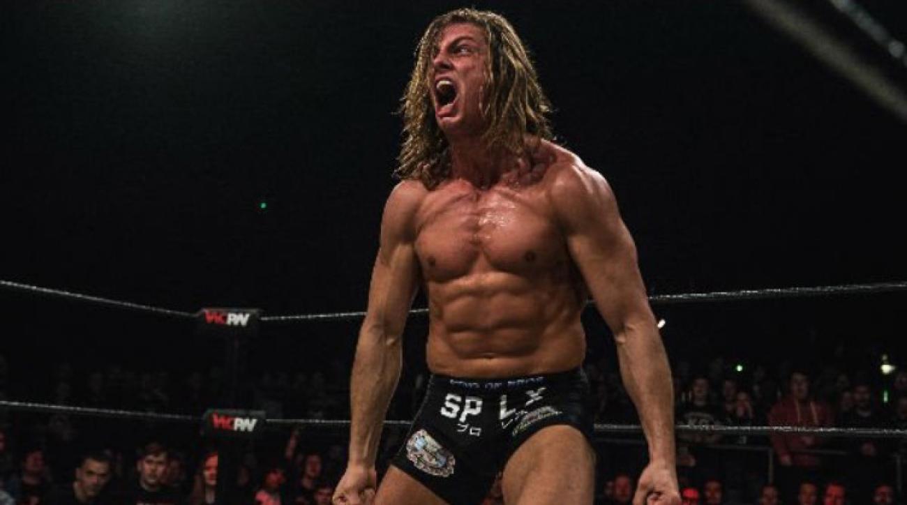 EVOLVE's Matt Riddle at show with Progress Wrestling