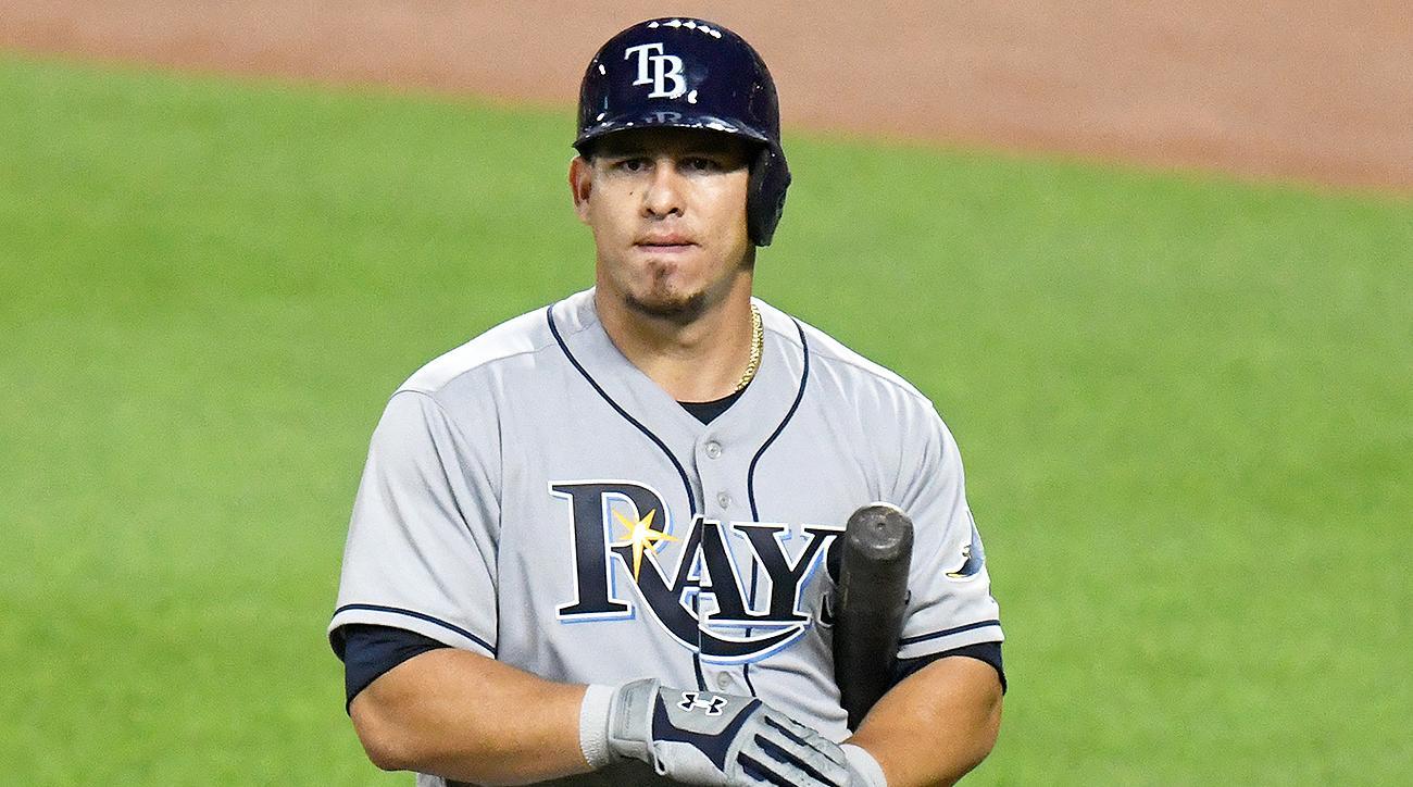 Tampa Bay Rays Wilson Ramos