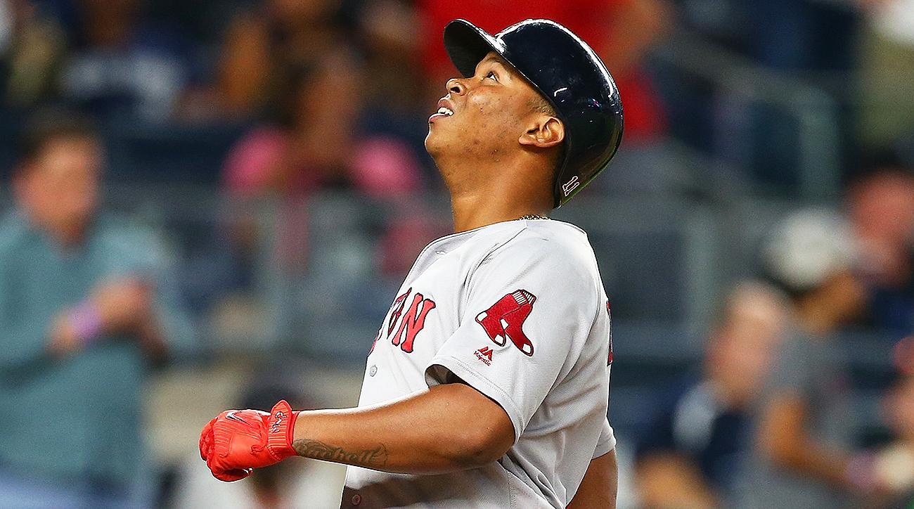 Boston Red Sox Rafael Devers