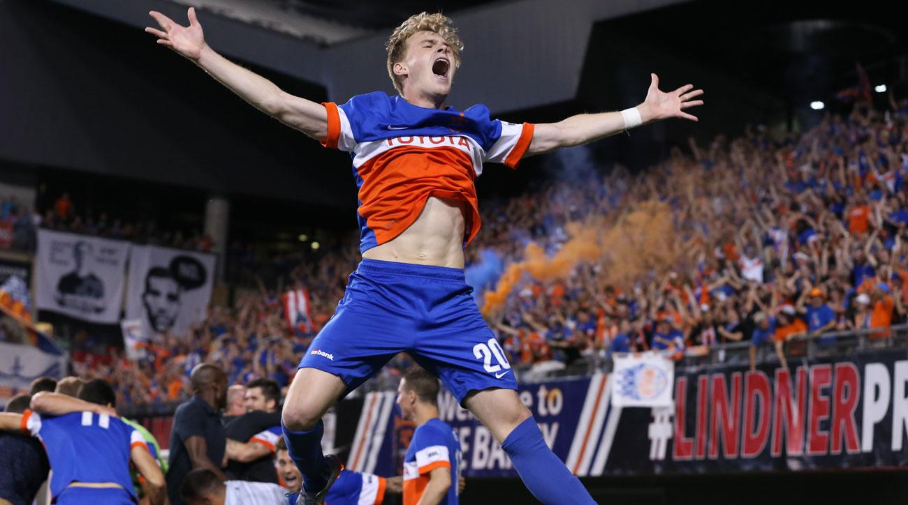 FC Cincinnati takes on the New York Red Bulls in the US Open Cup semifinals