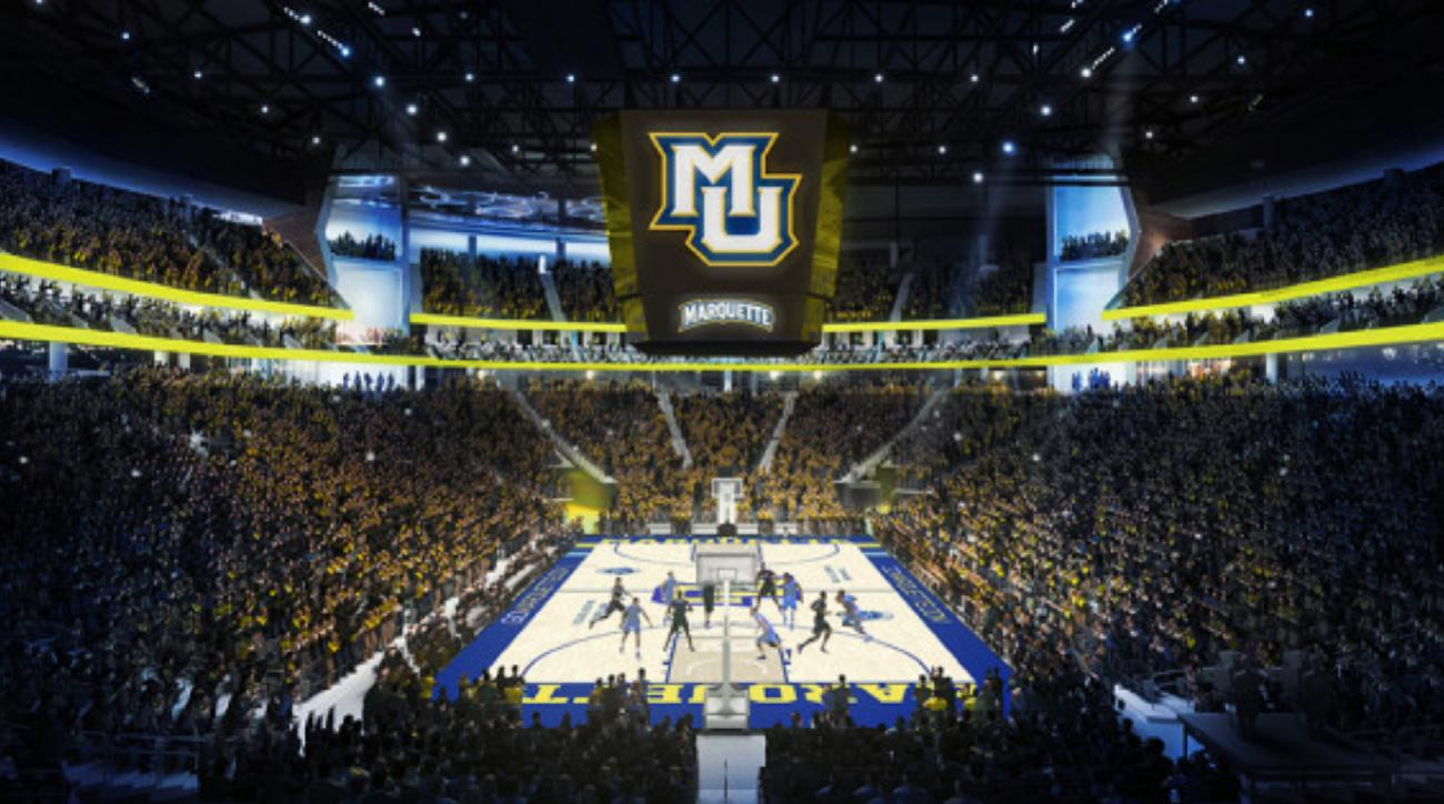 Marquette signs seven-year contract to play in Bucks' new ...