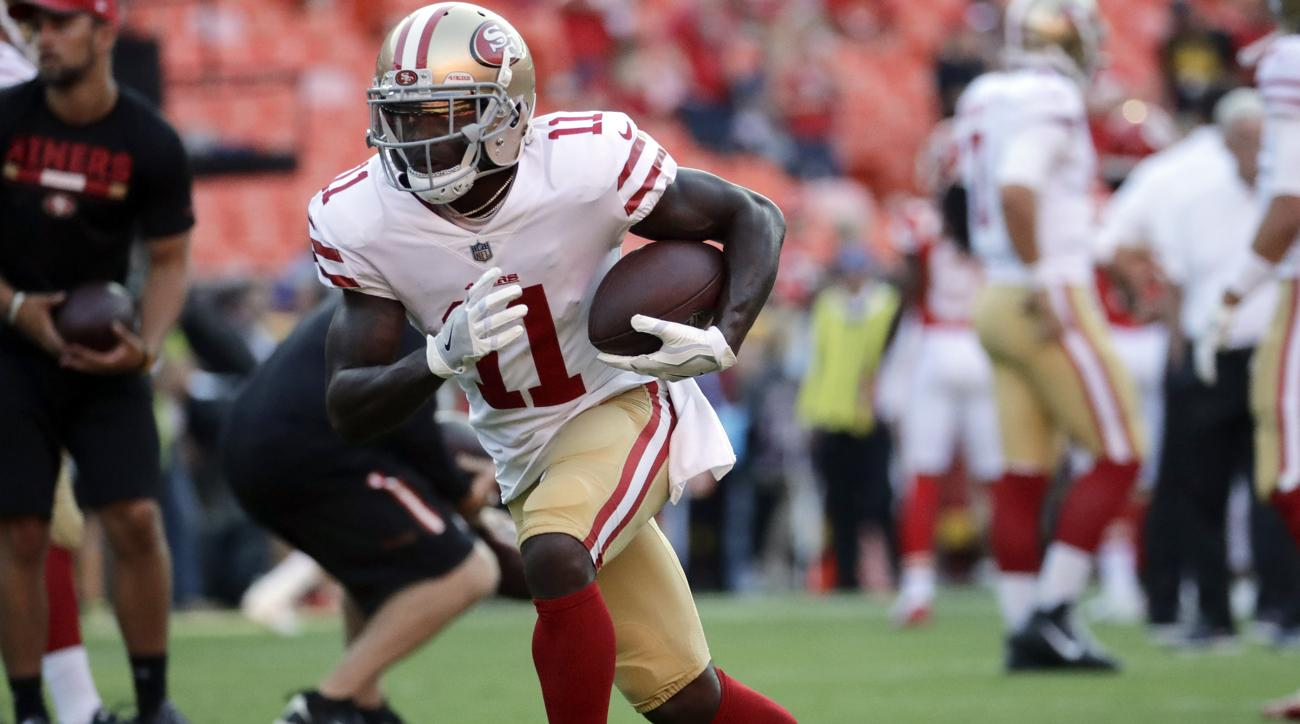 49ers WR Goodwin's track suspension won't affect National Football League career