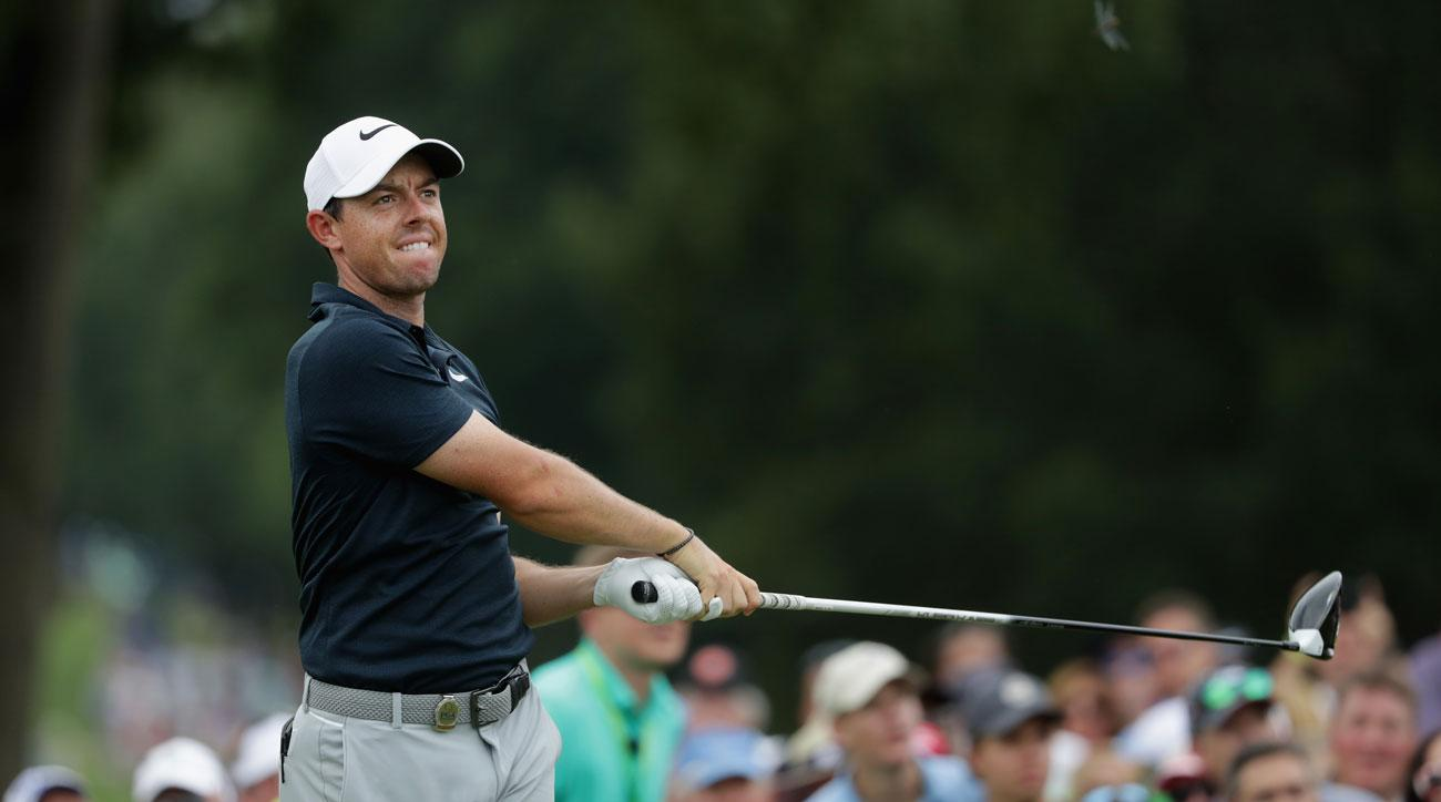 Rory's strength and speed allow him to execute shots others wouldn't even attempt