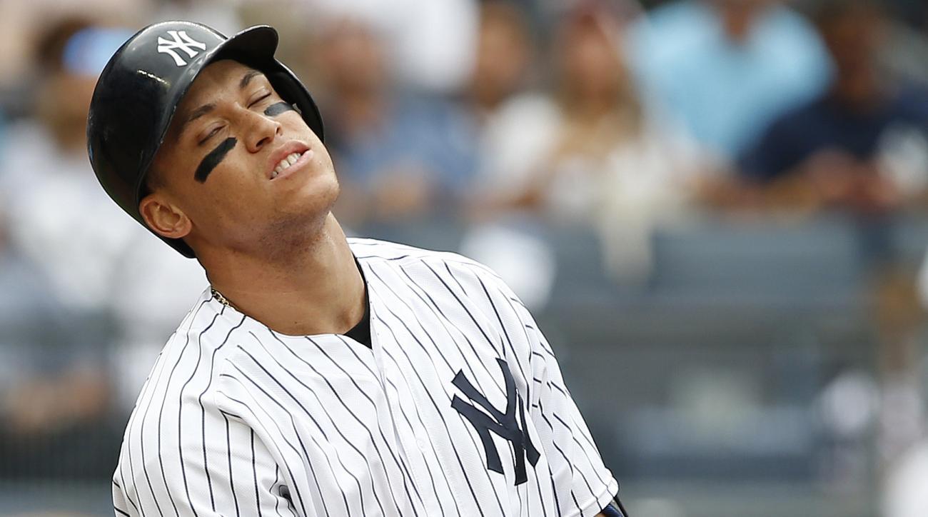Aaron Judge breaks Adam Dunn's strikeout record | SI.com
